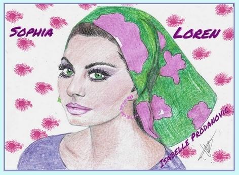 Sophia Loren por isabella1988